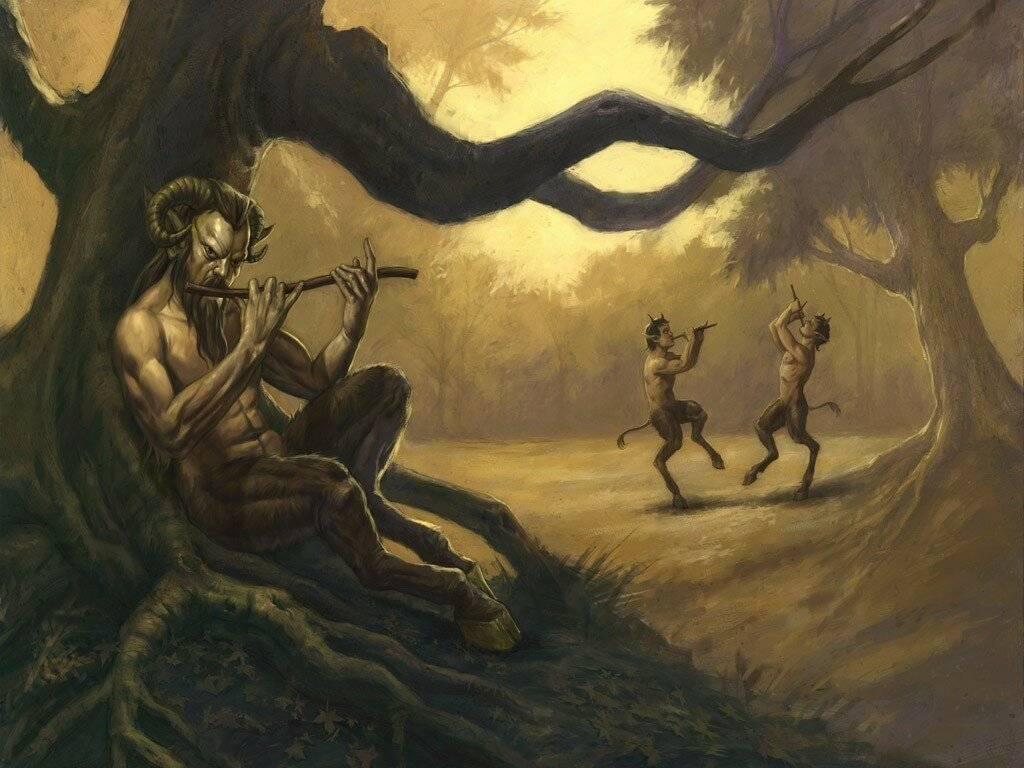 Получеловек полукозел как называется в мифологии