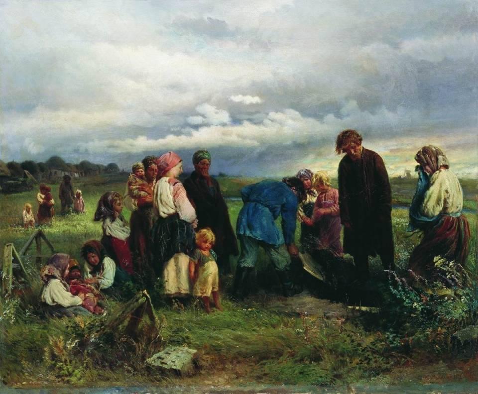 Похоронные обряды славян: как прощались с родными (3 фото)