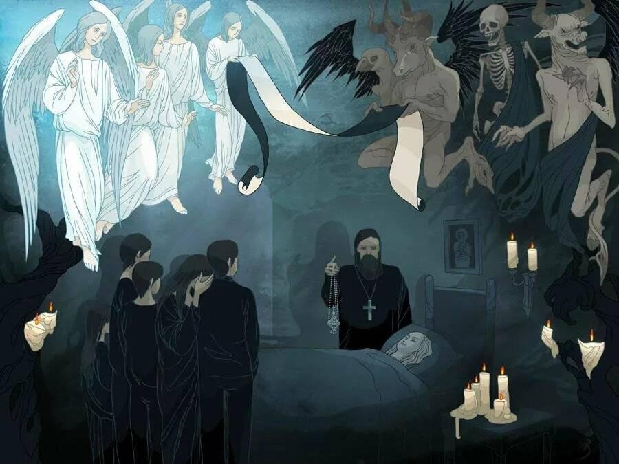 Что происходит с душой после смерти - православный взгляд   православиум