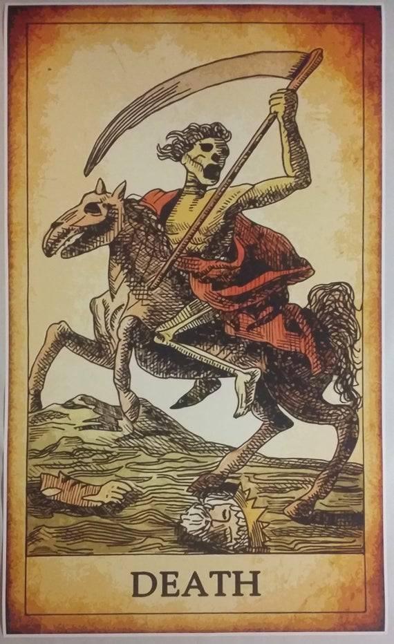 Старший аркан смерть: значение, описание, сочетание