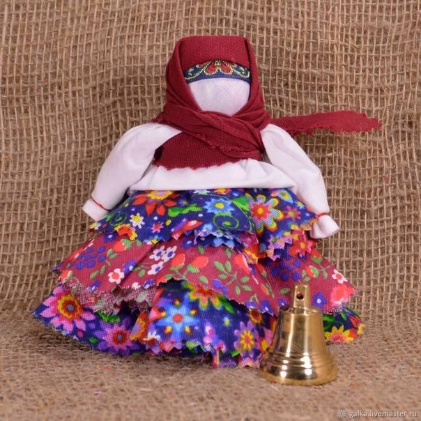 Кукла-оберег на счастье: мастер-класс по изготовлению своими руками
