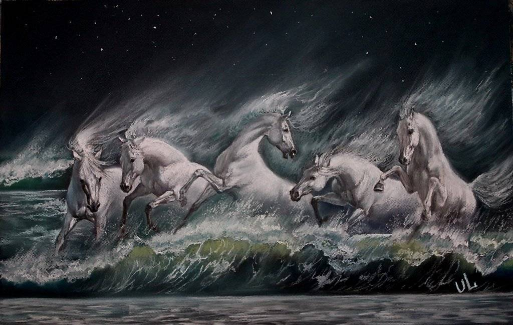 Гиппокамп (мифология) - hippocampus (mythology) - xcv.wiki