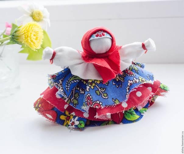 Конспект мастер-класса. тряпичная кукла «колокольчик». воспитателям детских садов, школьным учителям и педагогам - маам.ру