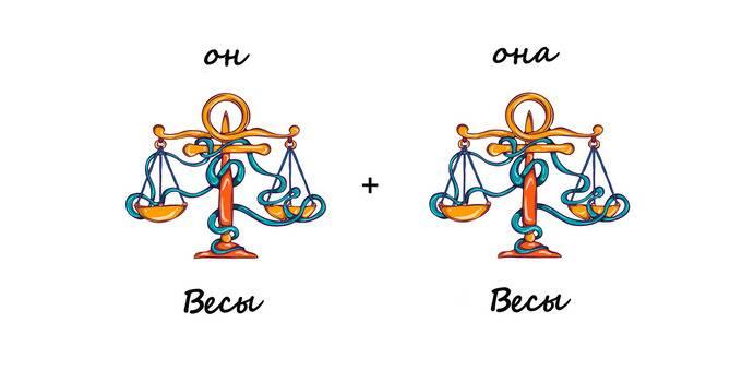Совместимость рак мужчина и весы женщина в любви и браке