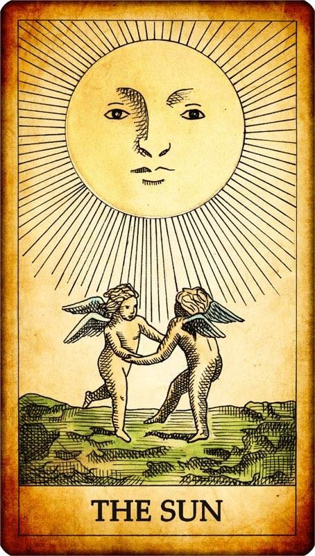 Карта таро солнце – значение, толкование в перевернутом виде