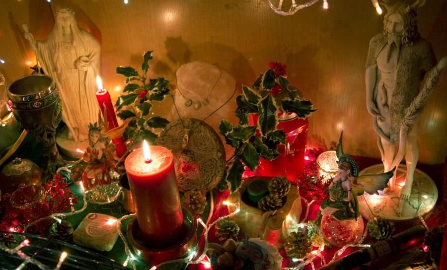 Ритуалы на йоль (день зимнего солнцестояния)   moon-mood