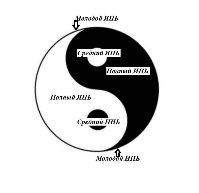 Что означает символ инь-ян? толкование природы инь, ян, влияние на культуру.