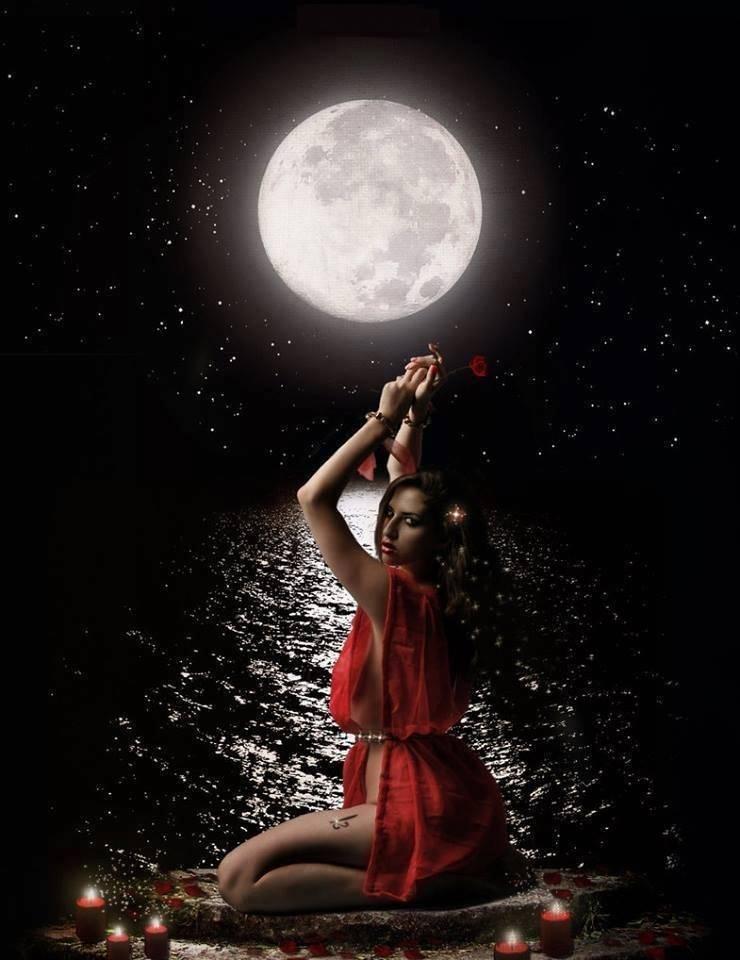 При какой луне совершаются колдовские обряды?
