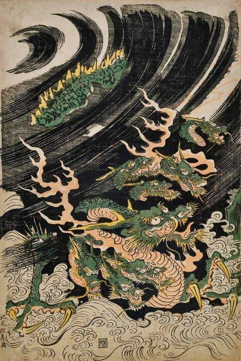 Корейские и японские драконы — земля до потопа: исчезнувшие континенты и цивилизации