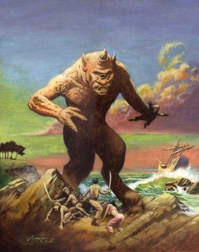 Циклопы - страшные монстры или великие мастера греции?