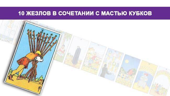 Карта таро 10 мечей - значение и трактовка в раскладах при гадании