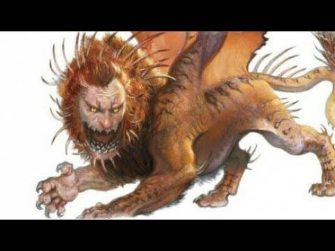 Мантикора — легендарное и непобедимое чудовище-людоед. мантикора в древней мифологии и современном мире мантикора в китае