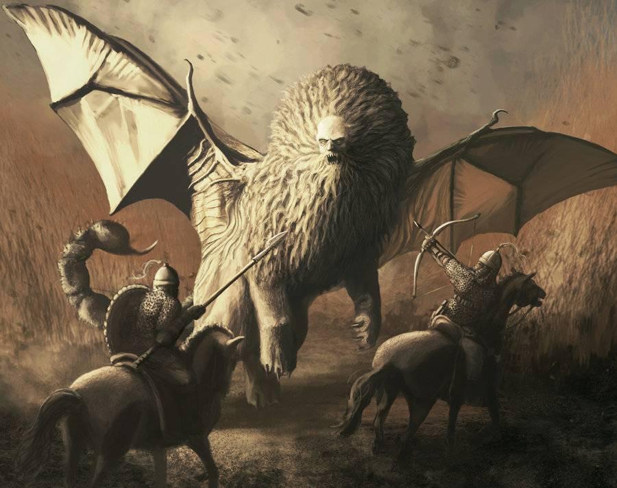 Мантикора — легендарное и непобедимое чудовище-людоед. мантикора - что это за существо и как оно выглядит? легенды о мантикоре