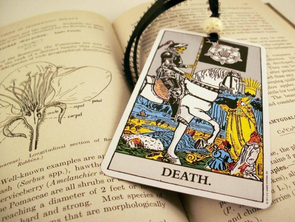 Смерть таро: значение, сочетание с другими арканами, прочтение