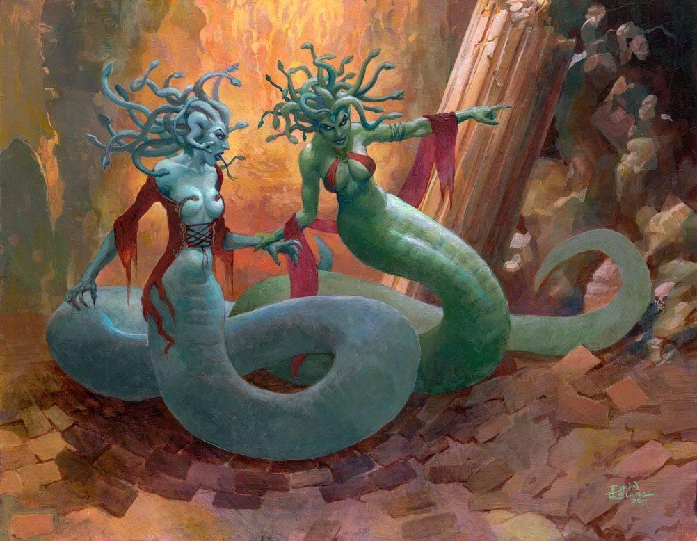 Развенчание мифа о  горгоне медузе: почему чудовище стало символом дома версаче и острова сицилия