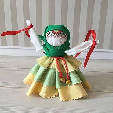 Как делают куклы-мотанки колокольчик своими руками – пошаговое изготовление из ткани