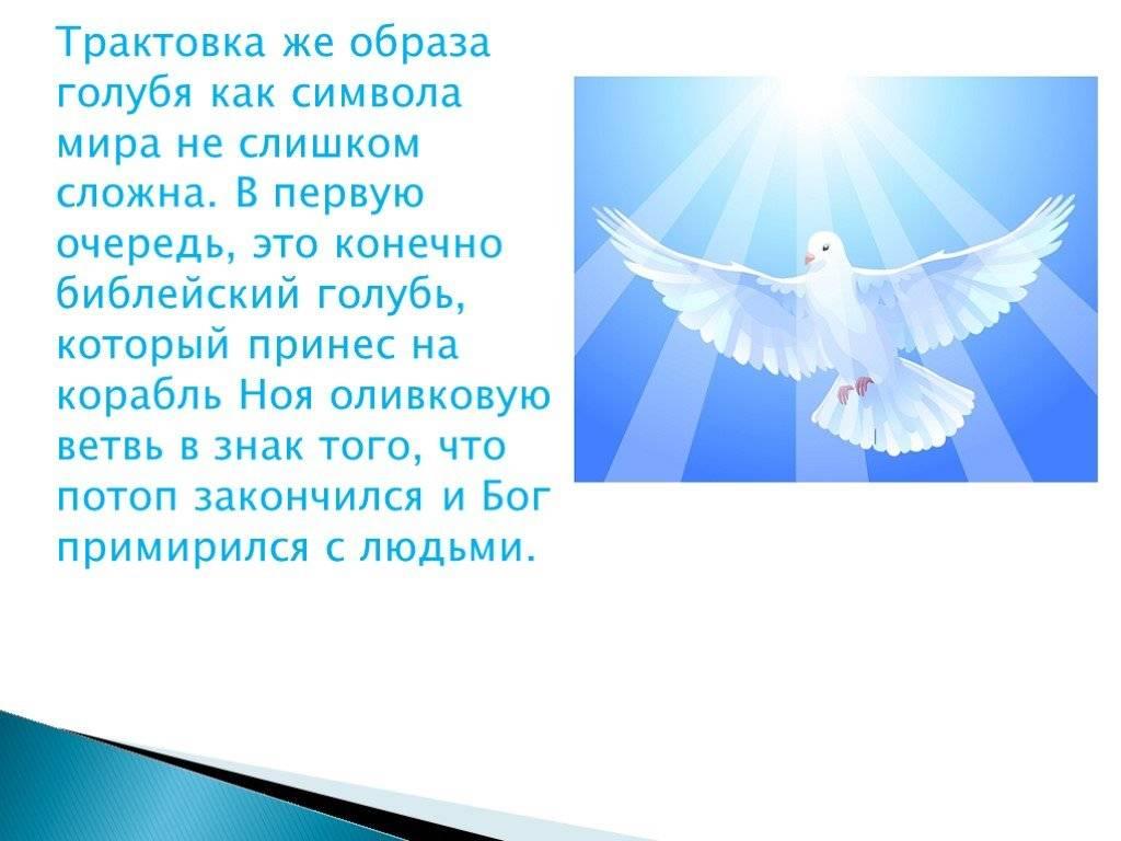 Голубь в христианстве