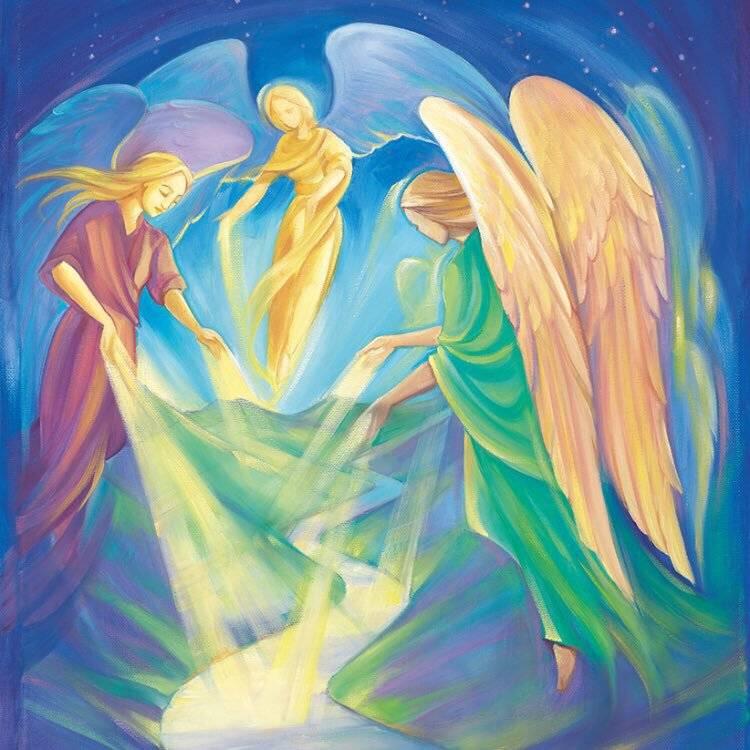 Ангелы, которые помогают людям