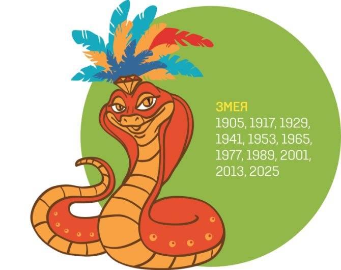 Змея в китайском гороскопе