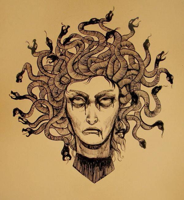 Медуза горгона - кто она, мифы и легенды