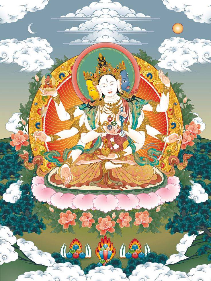 Тибетская священная мантра, необходимая каждой женщине