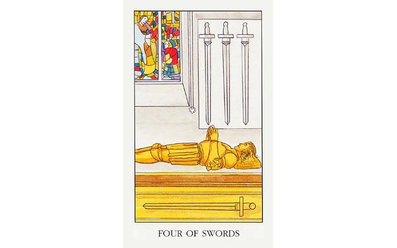 4 мечей  таро – значение и толкование   гороскопы 365