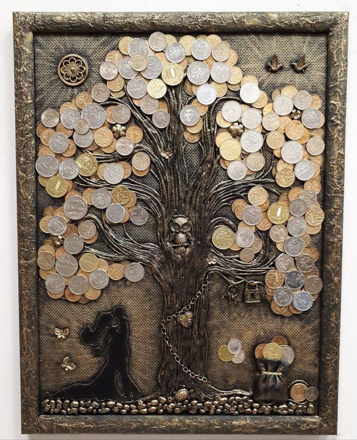 Денежное дерево своими руками из купюр (29 фото): пошаговая инструкция изготовления топиария. как сделать поделку из бумажных денег в подарок?