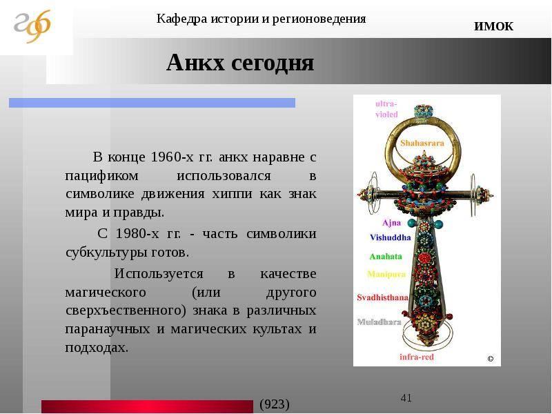 Крест анх: значение и использование, активация оберега