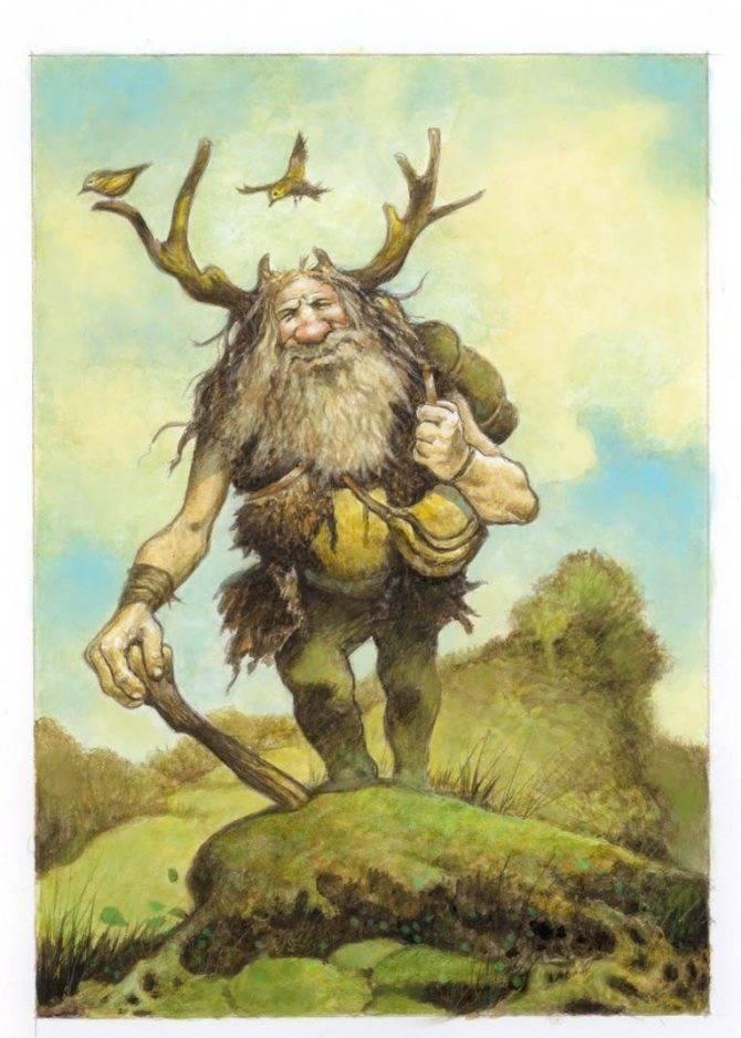 Духи славянской мифологии
