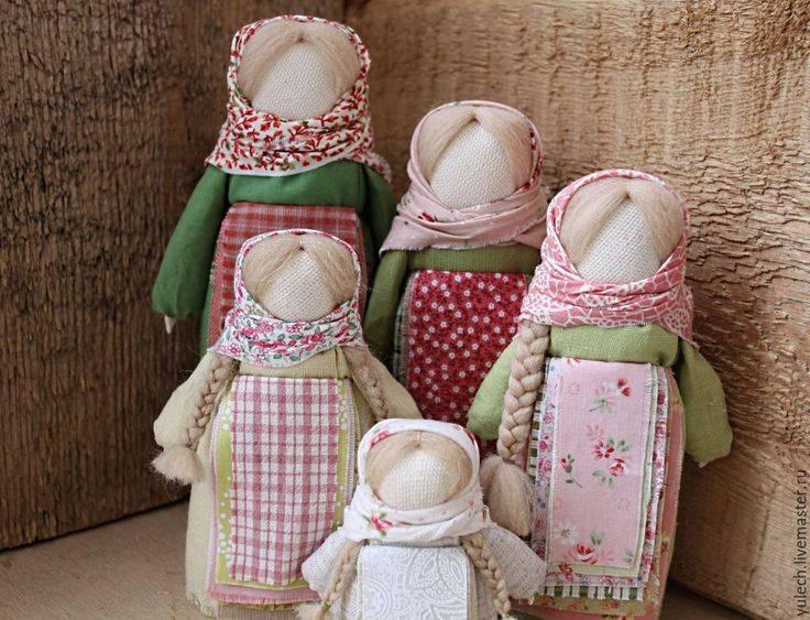 Куклы-мотанки желанница и столбушка — мощные древнеславянские обереги: мастер-класс по изготовлению
