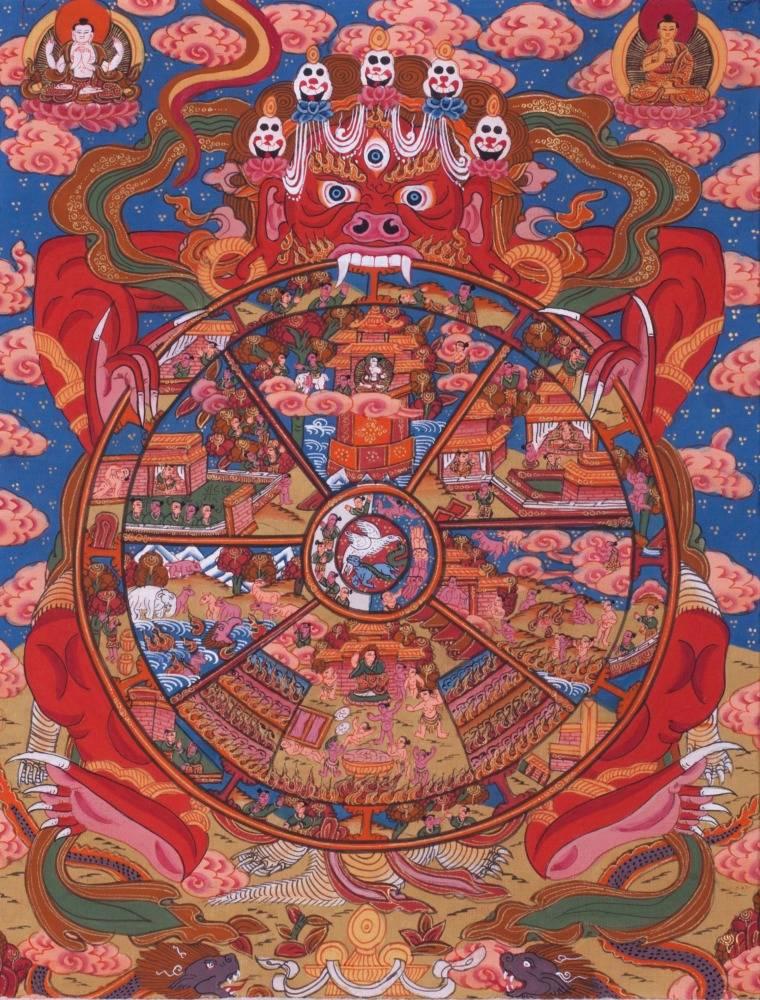 Сансара: что это значит? колесо сансары и ее закон в буддизме и философии