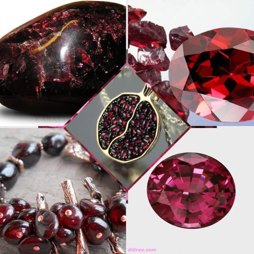 Гранат - камень: свойства, кому подходит по знаку зодиака, как носить (фото)