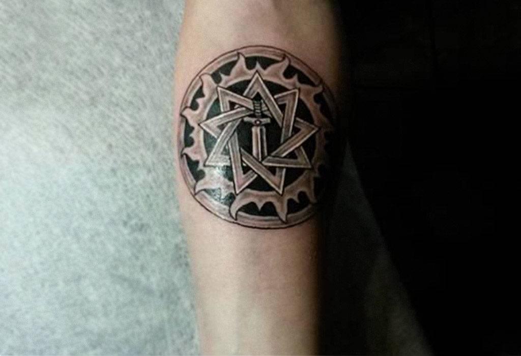 Значение символа звезда инглии