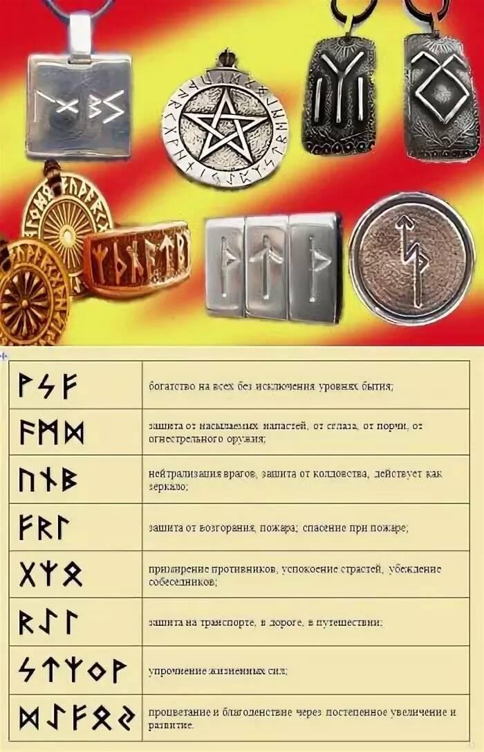 Руны-обереги: их значение, применение амулетов и талисманов с руническими символами