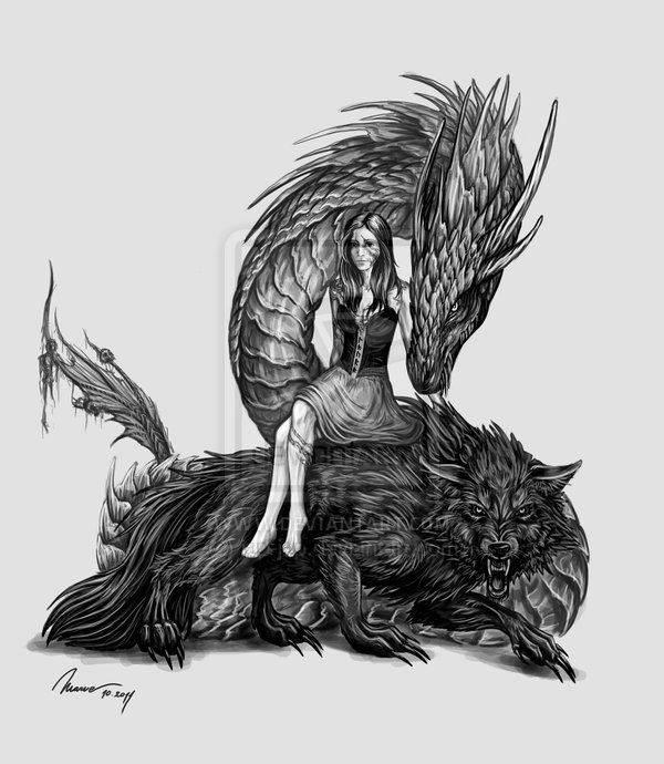 Ёрмунганд | bestiary.us