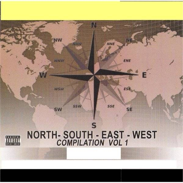 Запад, восток, север, юг