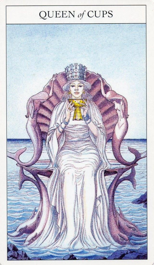 Королева кубков в таро — значение и характеристика карты