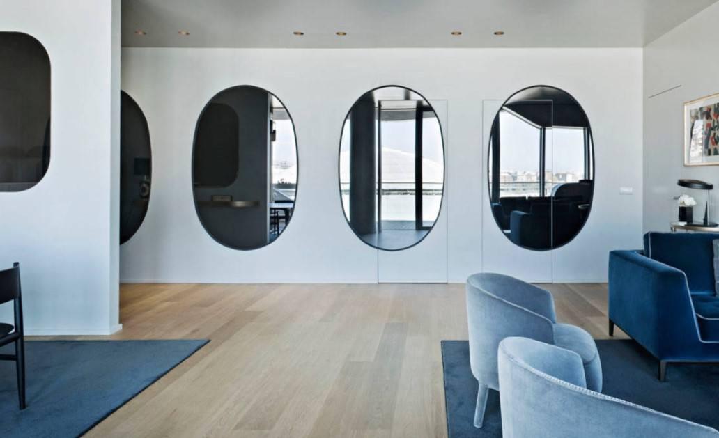 Можно ли вешать зеркало напротив входной двери и двери в комнату по фен-шуй: приметы. можно ли вешать часы, картину, фотографии напротив входной двери? чем украсить стену, что повесить на стену в прих