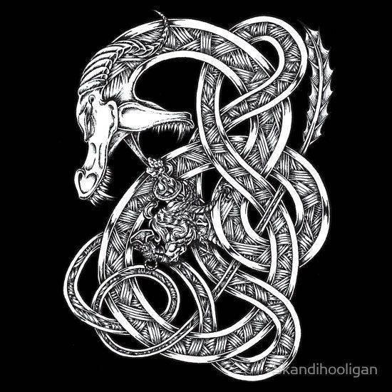 Ермунганд — мировой змей в скандинавской мифологии