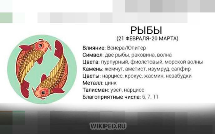 Знак зодиака рыбы (37 фото): даты и характеристика знака, характер личности и планета покровитель, стихия и символы рыб