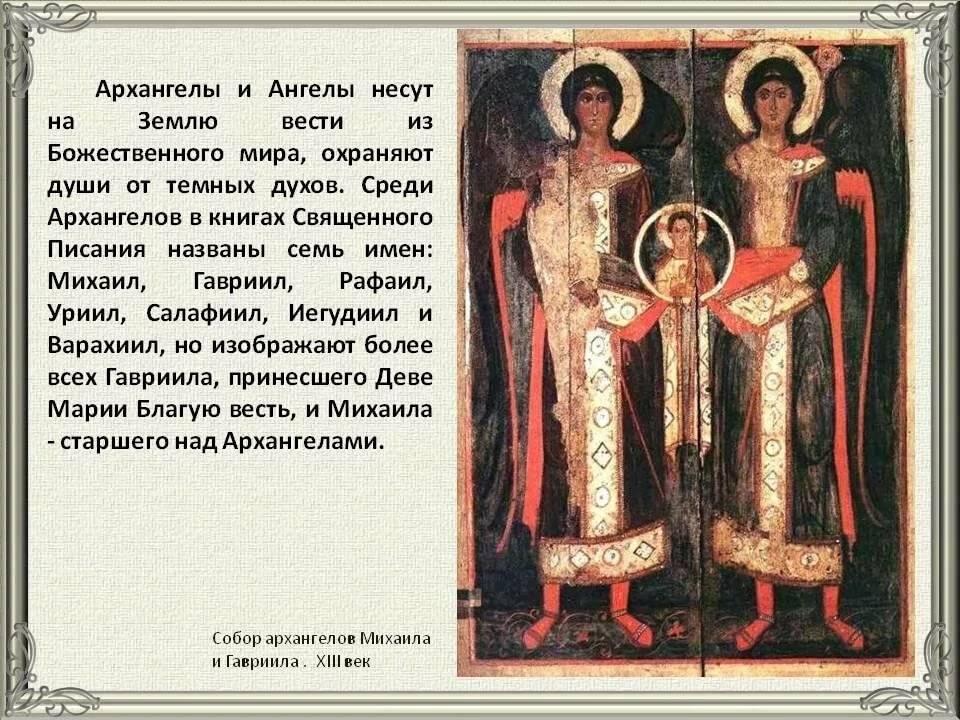 Сколько архангелов в православии: их имена и предназначение