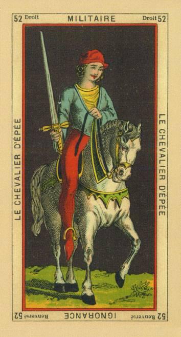 Рыцарь мечей в таро: значение и сочетание карты