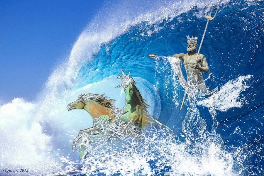 Бог посейдон   мифы о посейдоне   бог нептун   амфитрита   посейдон и эфиальт   нереиды   тритоны   ипполит   федра
