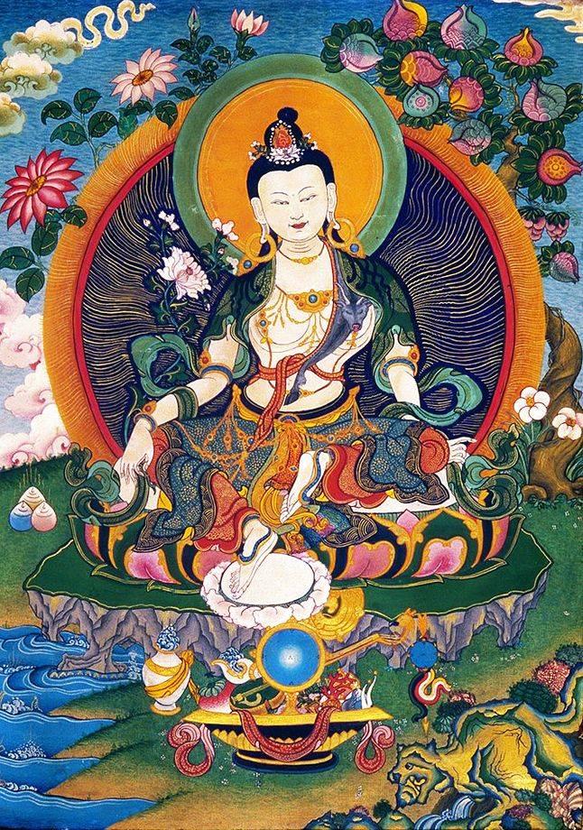 Зарождение бодхичитты через ритуал принятия обетов бодхисаттвы.. краткое объяснение сущности ламрима ... 106.