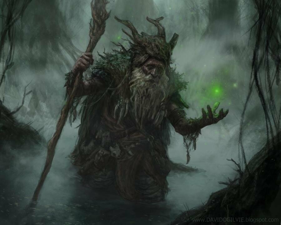 Леший - дух лесного простора