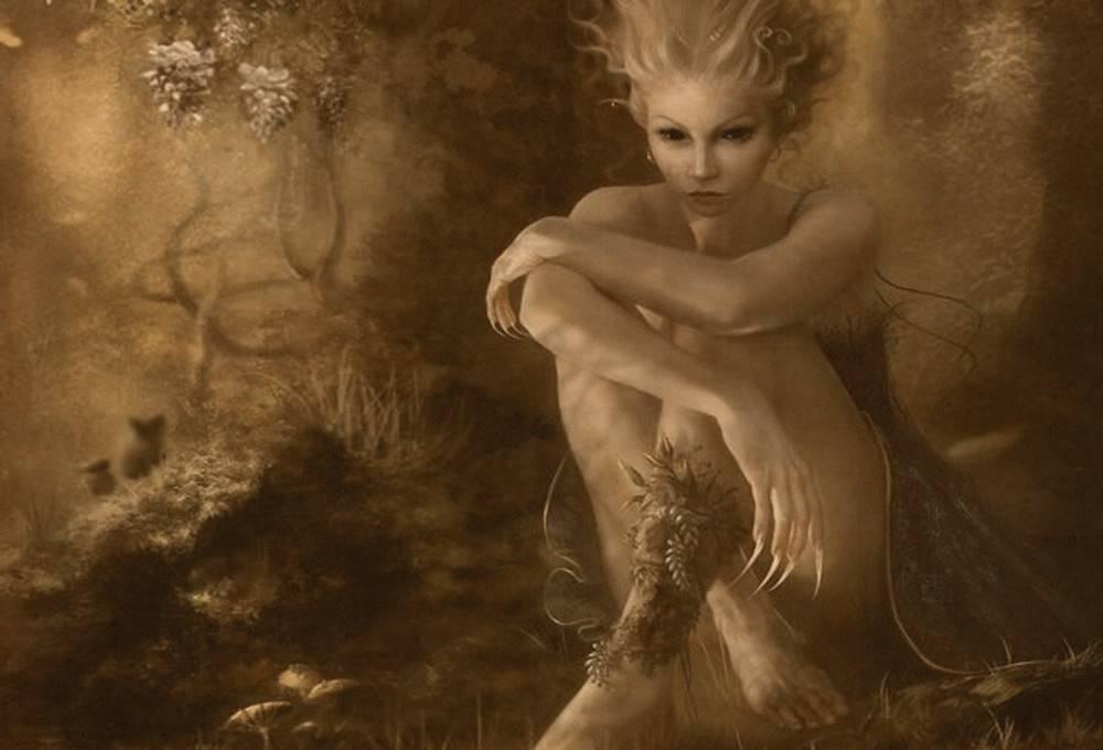 Легенды о дриаде | vortex flowers