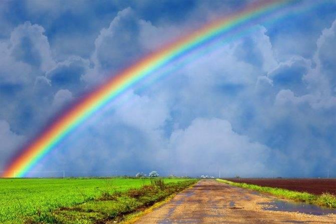 Показалась двойная радуга – ждите хороших перемен!