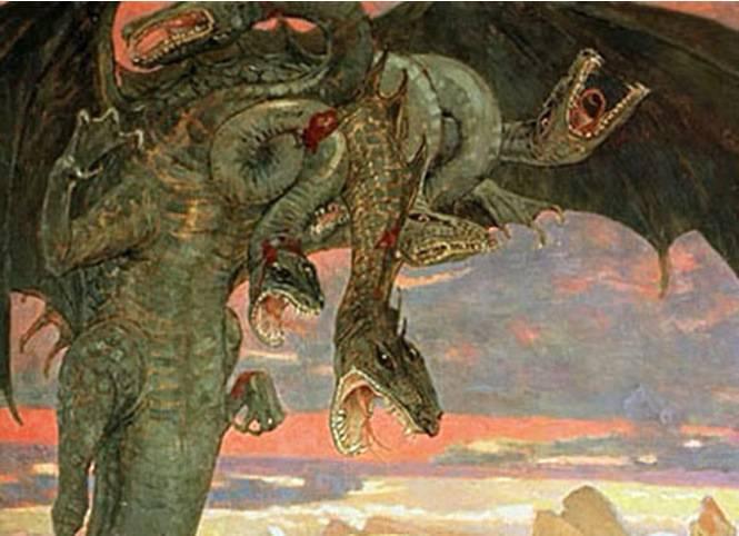Змей горыныч - вики