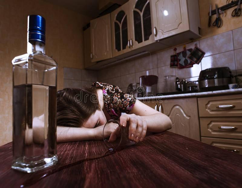Пьяная бывшая девушка