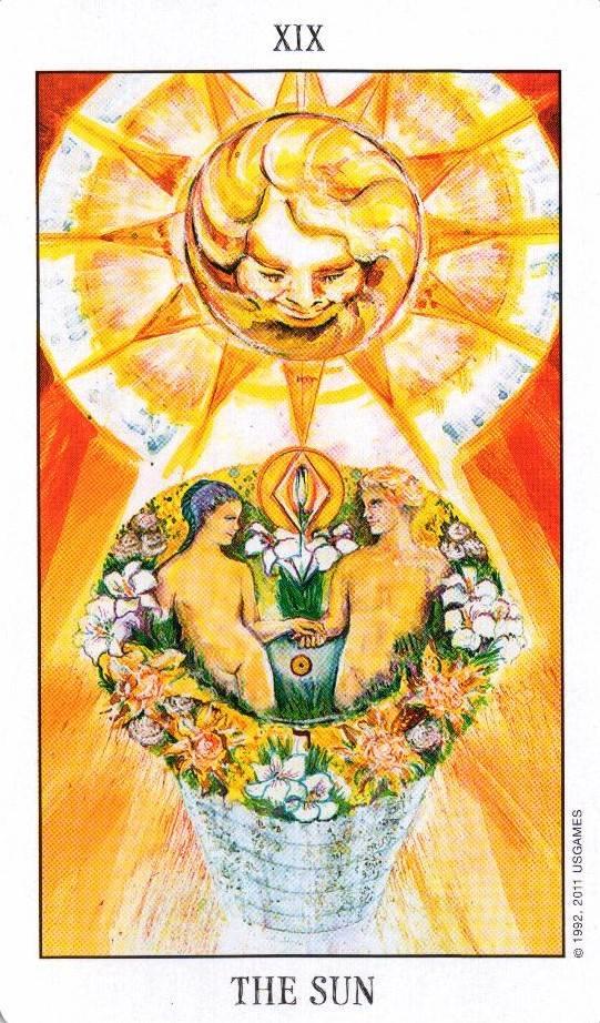 Солнце таро значение в раскладе на любовь, отношения, работу, деньги